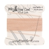 Dazzle-it 100% Silk Bead Cord with needle 2M #4(0.60mm) Light pink